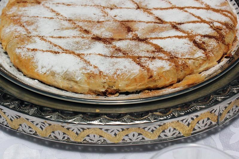 Пастила – едно от характерните ястия на Мароко