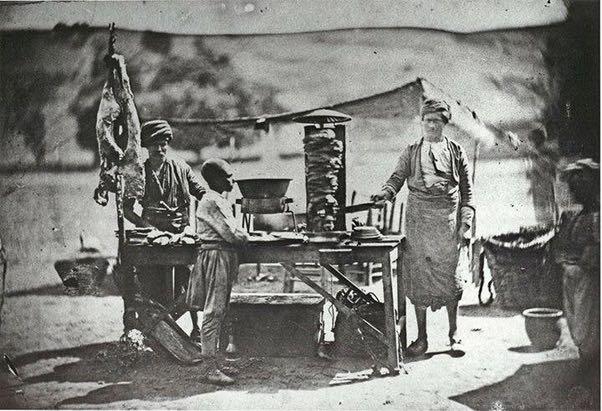Първи дюнер в Турция