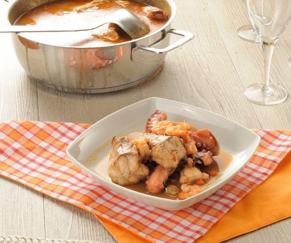 Италианска рибена супа